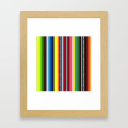Mexican Blanket No. 1 Framed Art Print
