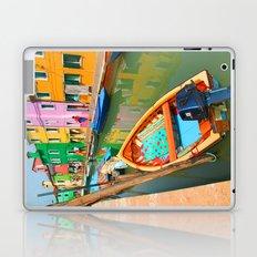 burano, italy - boat Laptop & iPad Skin
