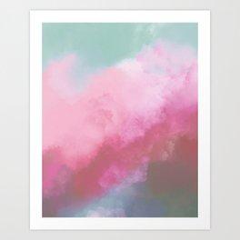 Erupt V2 Art Print