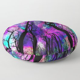 Magical forest Floor Pillow