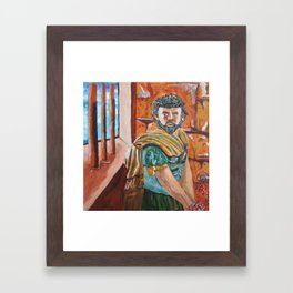 Greek Framed Art Print