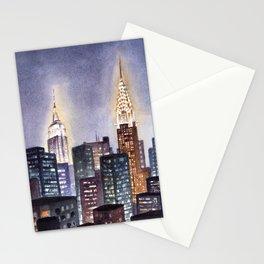 Manhattan Nocturne Stationery Cards