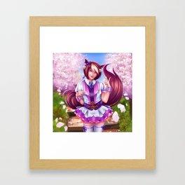 Special Kemonomimi Framed Art Print
