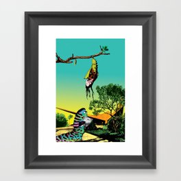 Cannot be done by proxy Framed Art Print