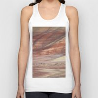minerals Tank Tops featuring Hills Painted by Earth Minerals by Leland D Howard