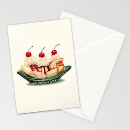 Sundae Best: Banana Split Stationery Cards