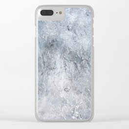 Gray Angst 2 Clear iPhone Case