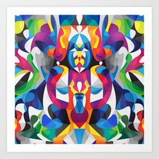 Turn To Art Print