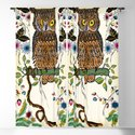 Vibrant Jungle Owl and Snake by famenxt