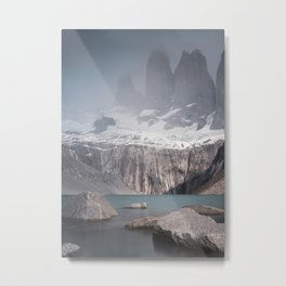 Three Towers, Chile Metal Print