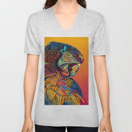 GUACAMAYO Exotic Animals Species Unisex V-Neck