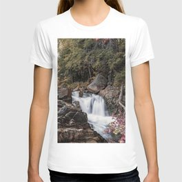 Waterfall at Rocky Gorge T-shirt