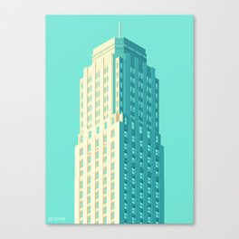 San Francisco Towers - 04 - Central Tower Canvas Print
