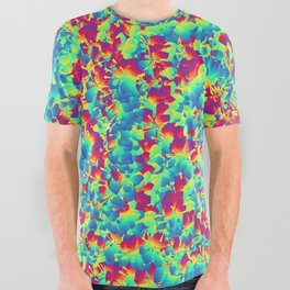 Crazy Colors All Over Graphic Tee