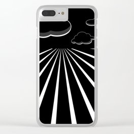 Dark Sky on the Horizon Clear iPhone Case