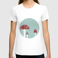 mushrooms T-shirts featuring mushrooms by liva cabule