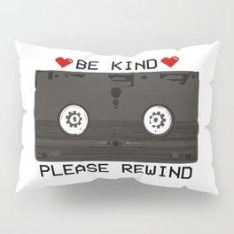 Be Kind, Please Rewind Retro VHS Pillow Sham
