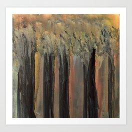Penumbral Forest Art Print