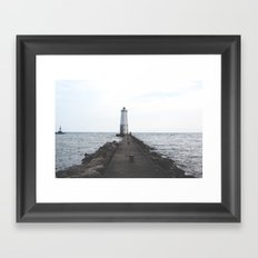 Frankfort-House Framed Art Print