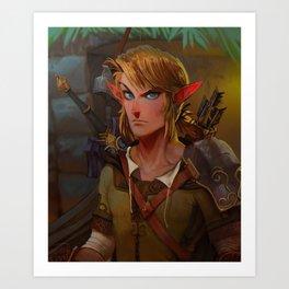 Link Art Print