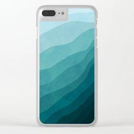 Stratum 2 Aqua Clear iPhone Case