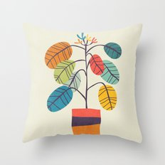 Potted plant 2 Throw Pillow