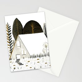 House I Stationery Cards