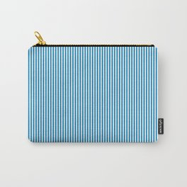 Blue Pinstripes Carry-All Pouch