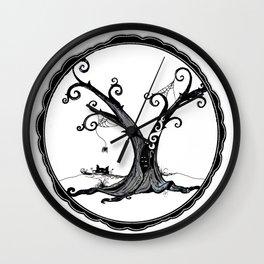 """Familiar and Friend"" Wall Clock"