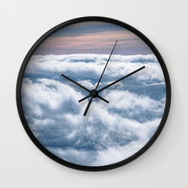 Cloudtop District Wall Clock
