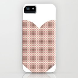 I love you this much... (light purple) iPhone Case