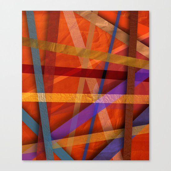 Abstract #366 Canvas Print