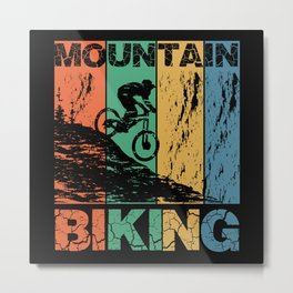 Bicycle Mountain Excursion for Drivers Metal Print