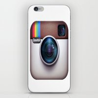 instagram iPhone & iPod Skins featuring Instagram by Aasyraf