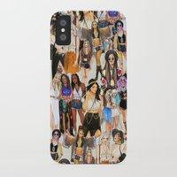 coachella iPhone & iPod Cases featuring Coachella Girls by Sara Eshak
