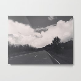 Somewhere in Wyoming Metal Print