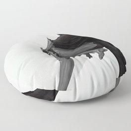 Silver Floor Pillow