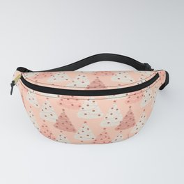 Vintage Christmas Trees Fanny Pack