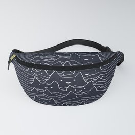 Furr Division Cats (Dark Blue) Fanny Pack