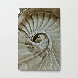 Sand stone spiral staircase 10 Metal Print