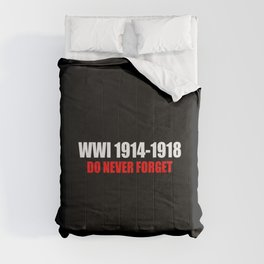 Commemoration WWI 1914-1918 Comforters