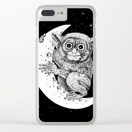 The Nocturnal Clear iPhone Case