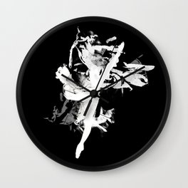 Ballerina Wall Clock