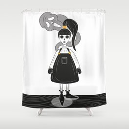 Ghoulish Shower Curtain