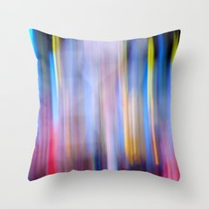 It Was All a Blur Throw Pillow