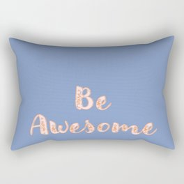 Awesome Blues Rectangular Pillow