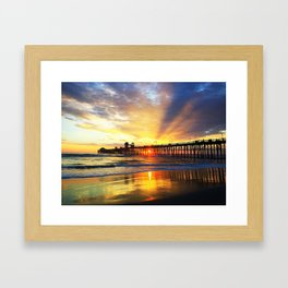 Waves of Solace Ultimate Framed Art Print