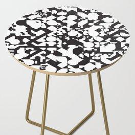 Jazz Noir Side Table