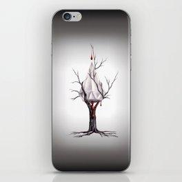 Presión del Carbón iPhone Skin