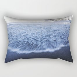 Beach Waves II Rectangular Pillow